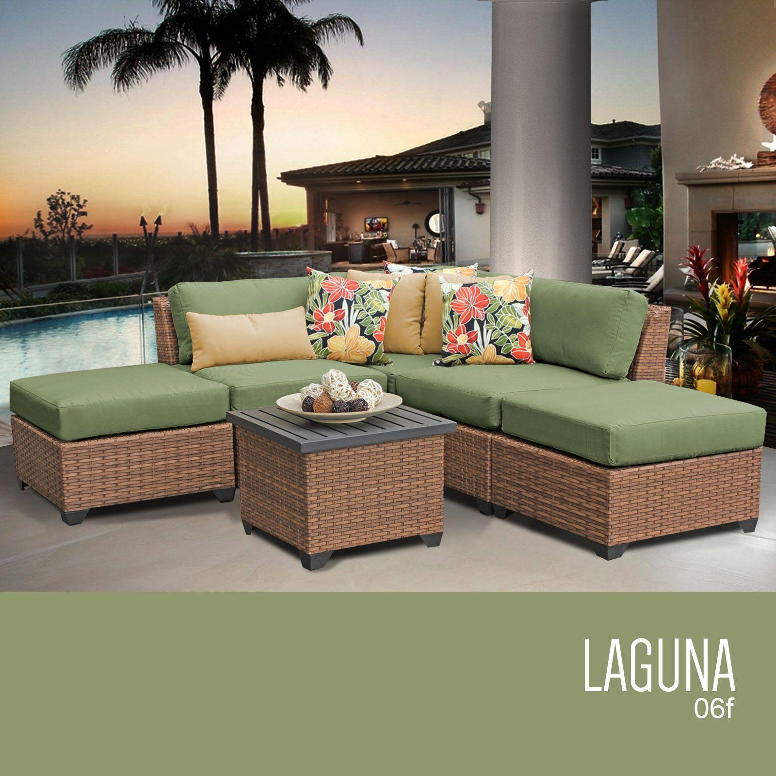 Buy laguna piece outdoor wicker patio furniture set f at