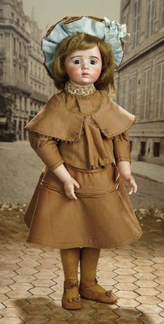 Outstanding French Bisque Art Character Doll by Albert Marque, #7 ...