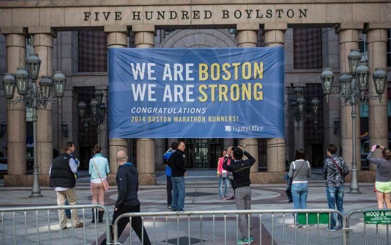 National Days on Boston marathon, Boston strong