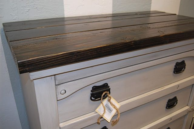 One Of My Favorite Dresser Make Overs Yet How To Add A Rustic Top To A Dresser Rustic Furniture Diy Furniture Home Decor Furniture