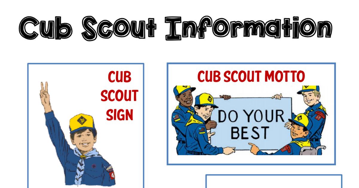 Pin on Cub Scouts