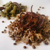 Lebanese Mujadra (lentils, rice & caramelized onions) - Allthecooks.com