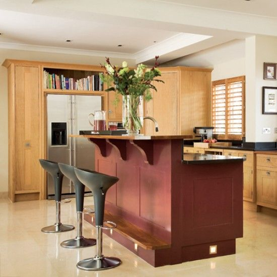 Kitchen with split level island unit dream home for Kitchen designs for split level homes