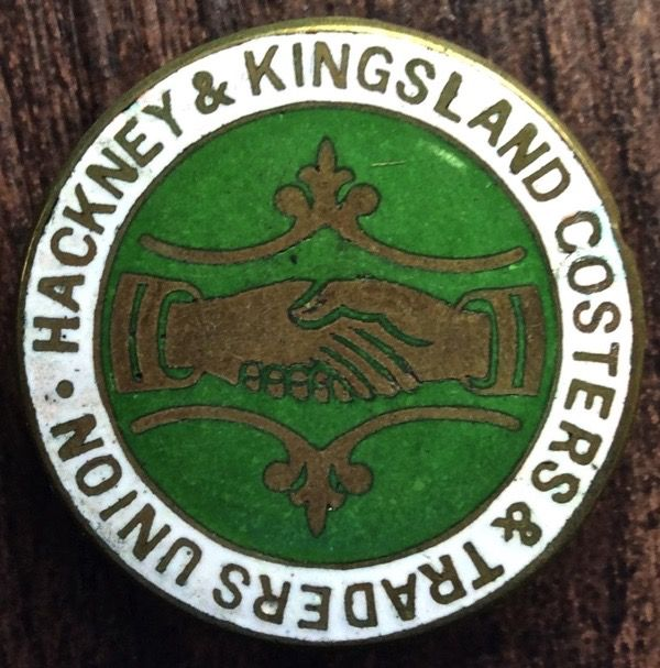 Kingsland coster badge fromthe late 19c