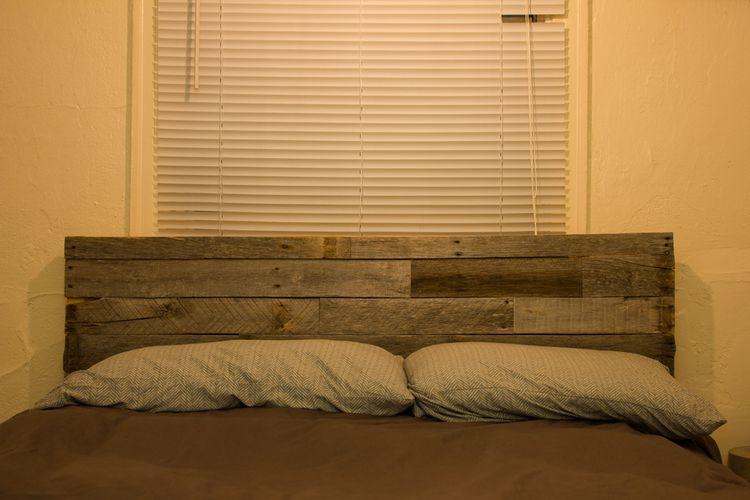 Tarva Bed Frame Hack Reclaimed Wood Headboard From Meisch Made