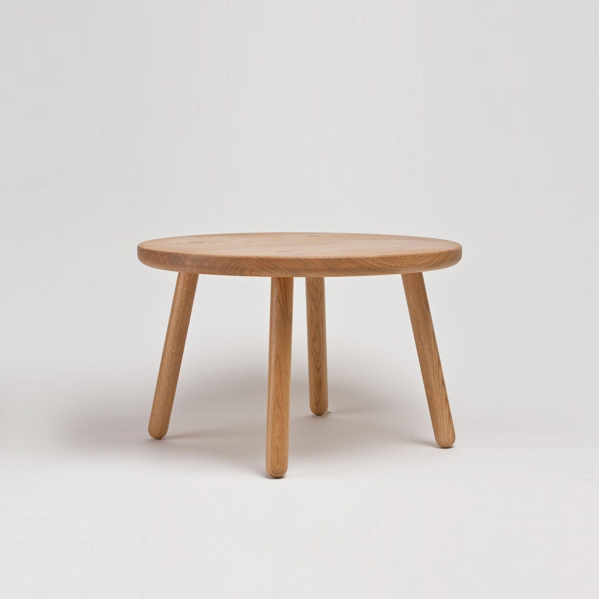 Coffee table one round timber planks natural structures and coffee