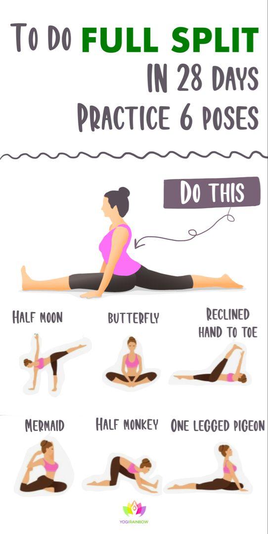 How to Do Full Split in 28 Days