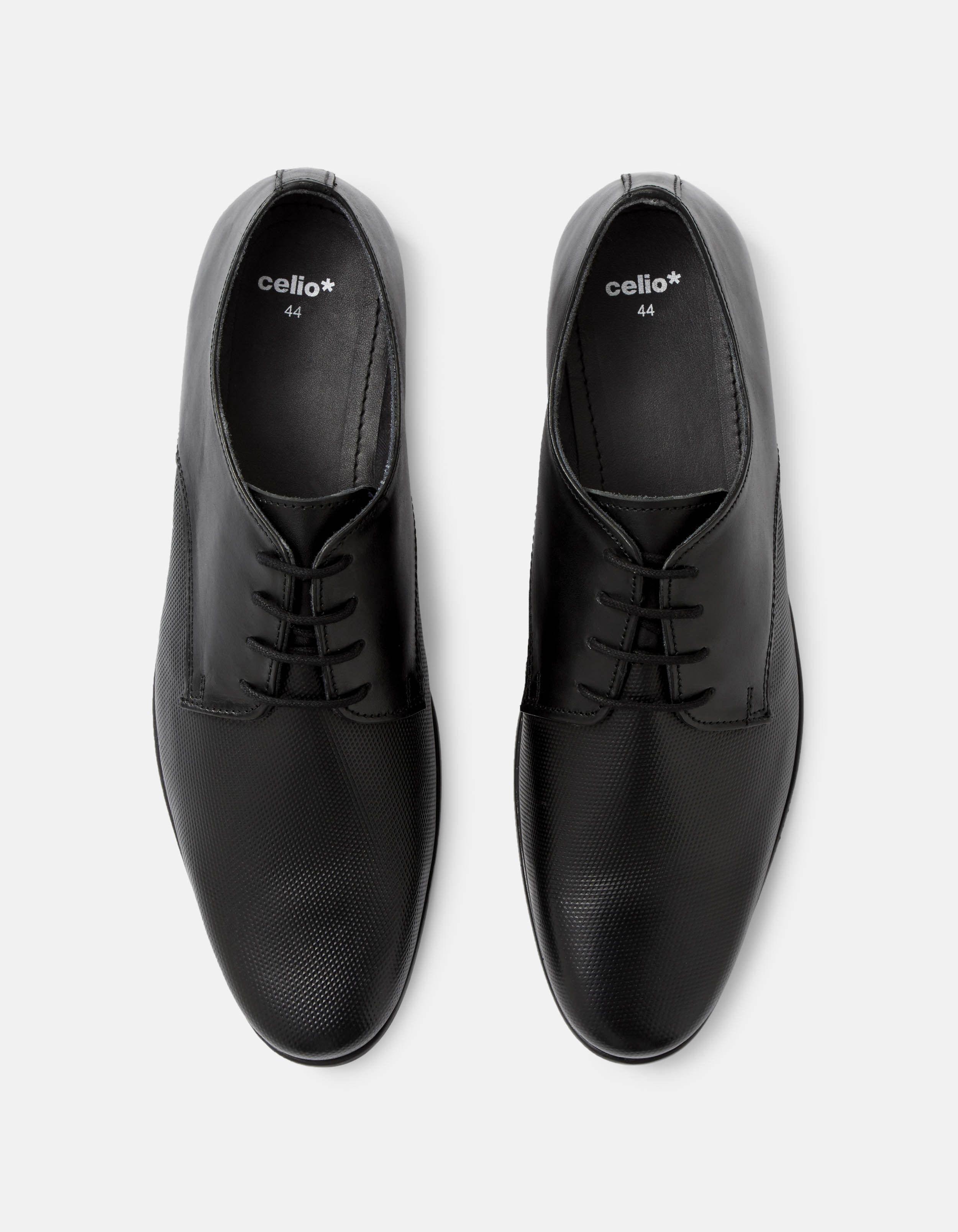 6b749df2154a7 Chaussures derby 100% cuir devant texturé | Any | Shoes, Oxford ...