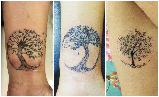 Significado De Tatuajes De árbol De La Vida Tatuajes Femeninos