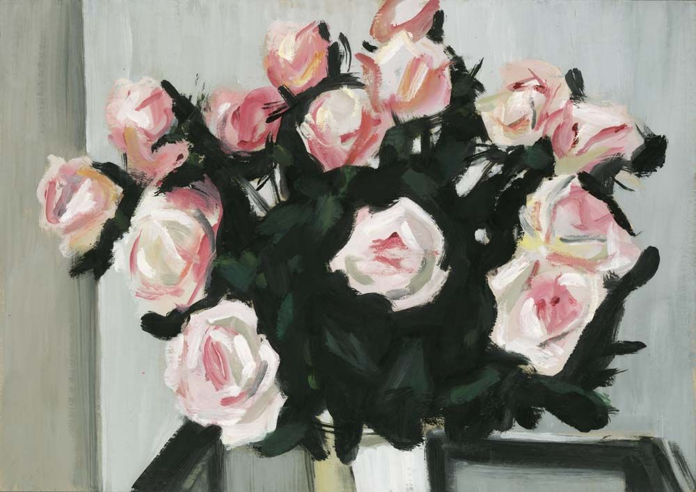 In Love With This Flower Fine Art Print Of Pink Roses By Matthew
