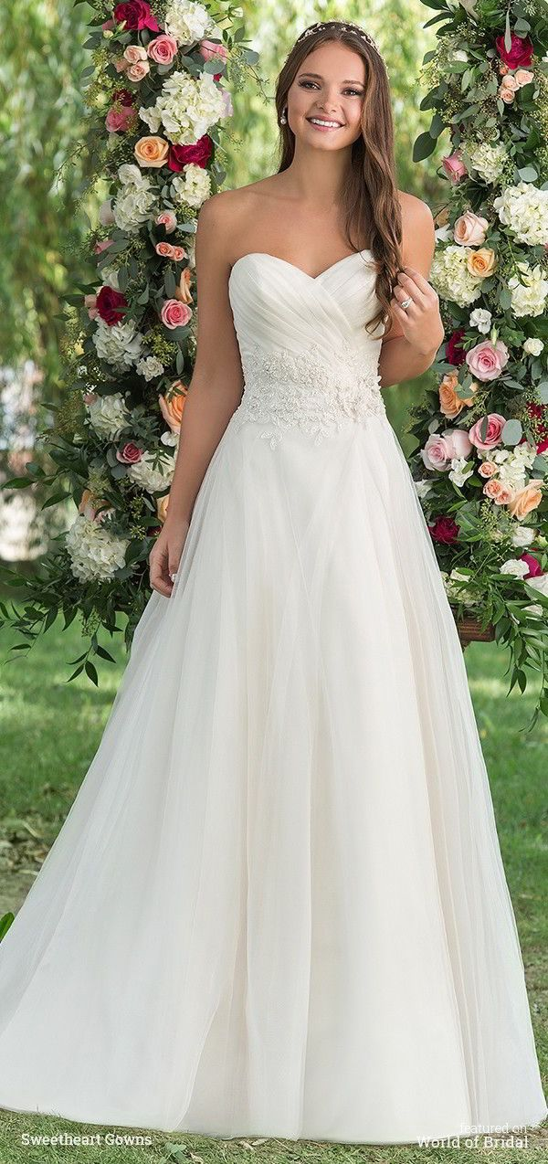 Sweetheart Gowns Fall 2016 Wedding Dresses | Ball gowns, Gowns and ...