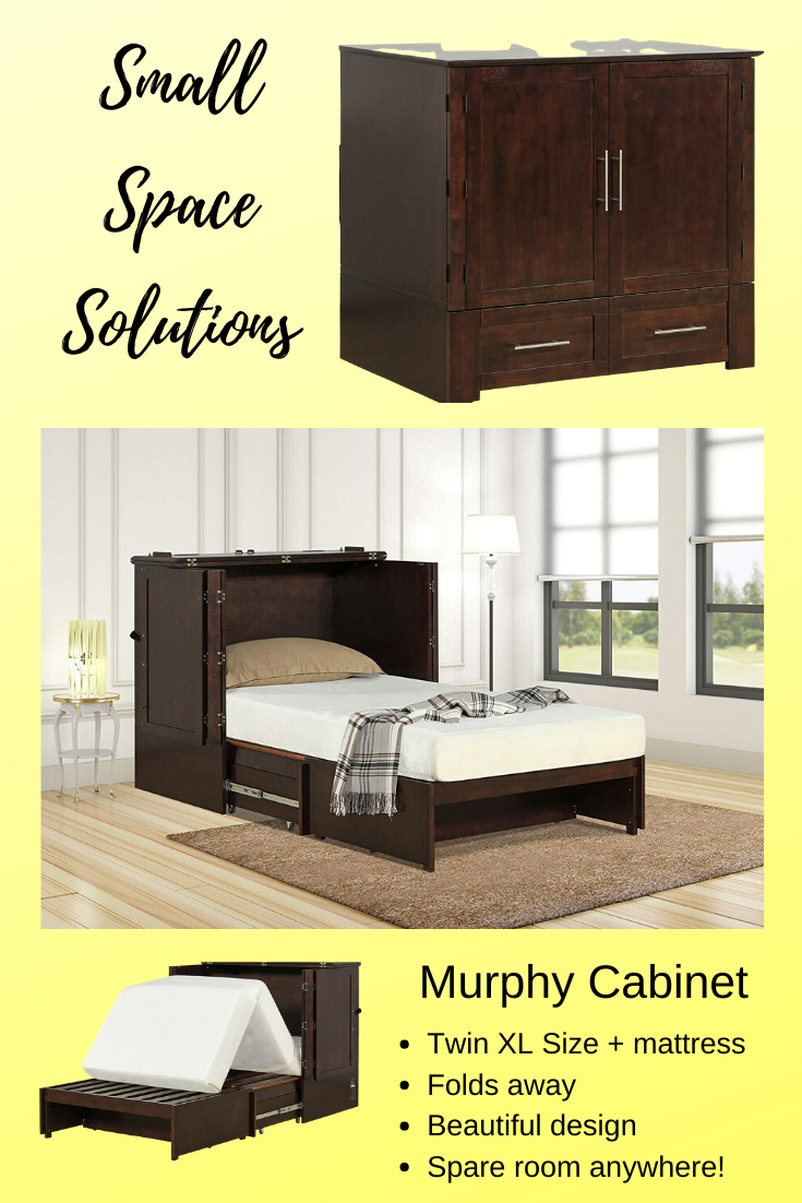 A Comfortable Xl Twin Bed Tucked Away In An Elegant Space Saving