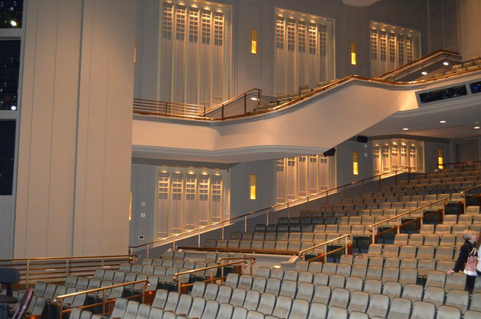 The Conference Center Theater - Venue for the 2013 Storytelling Concert on Friday Evening.
