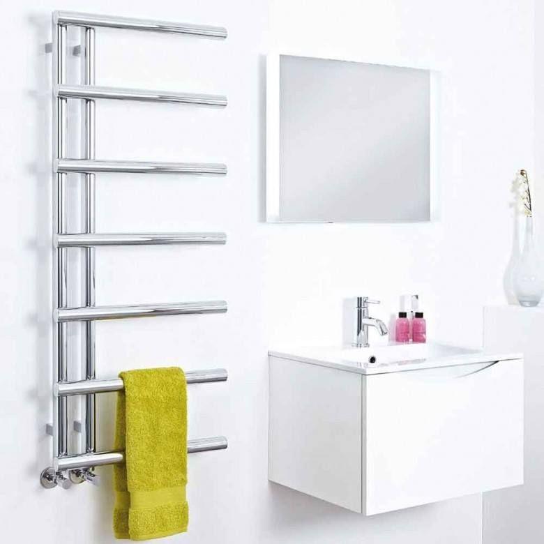 Luxury Chrome Heated Bathroom Towel Rail Radiator