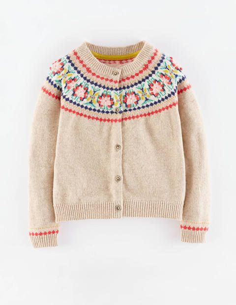 Fair Isle Cardigan 31889 Cardigans At Boden Stylin Sutu Cute