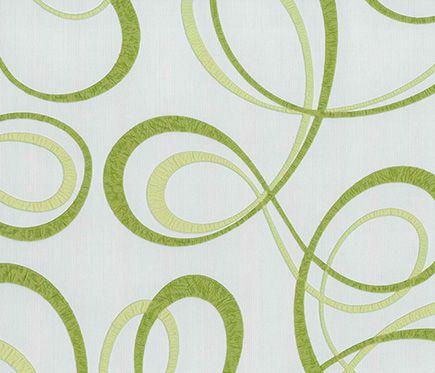 Papel pintado confetti verde papel pintado for Papel pintado estampado
