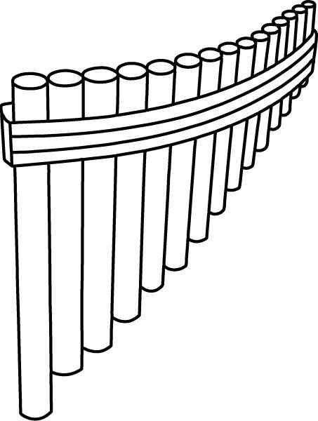 Fl te de pan musique primaire pinterest fl te de - Dessin de flute ...