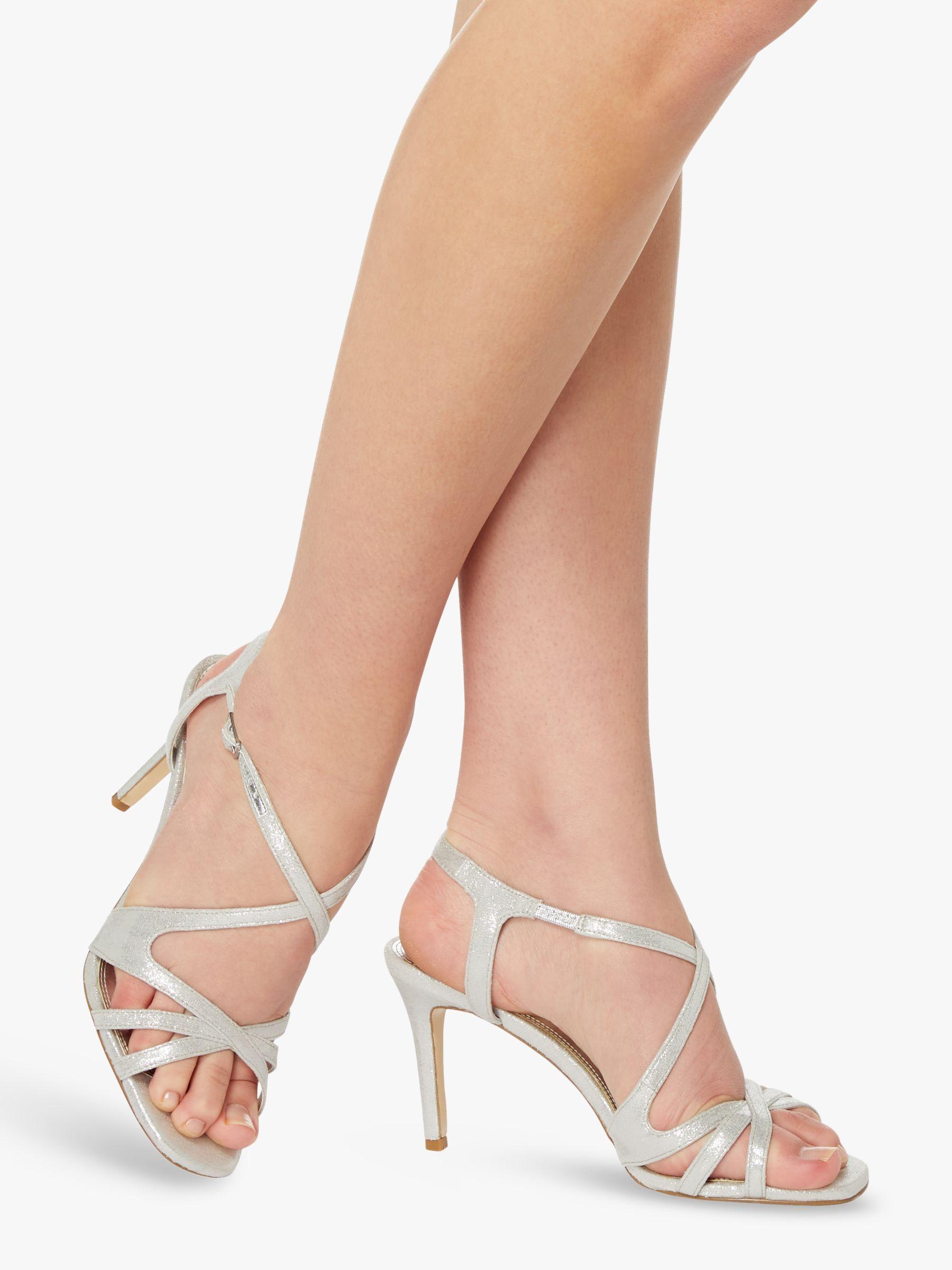 Dune Mysticks Strappy Stiletto Heels