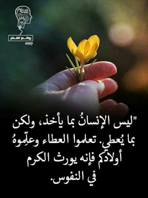 الحكمة Arabic Quotes True Words Wonderful Words