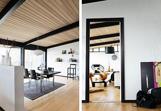 that seventies series paint the trim fantastic erin williamson dining pinterest black. Black Bedroom Furniture Sets. Home Design Ideas