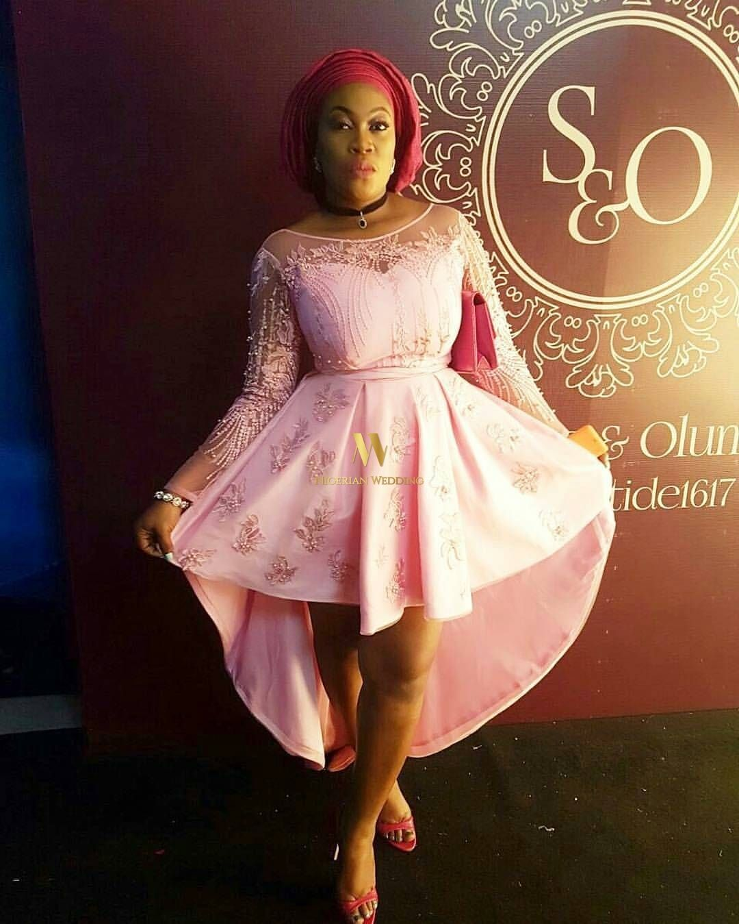 Wedding Guests Aso Ebi Styles At Stephanie Er S Traditional