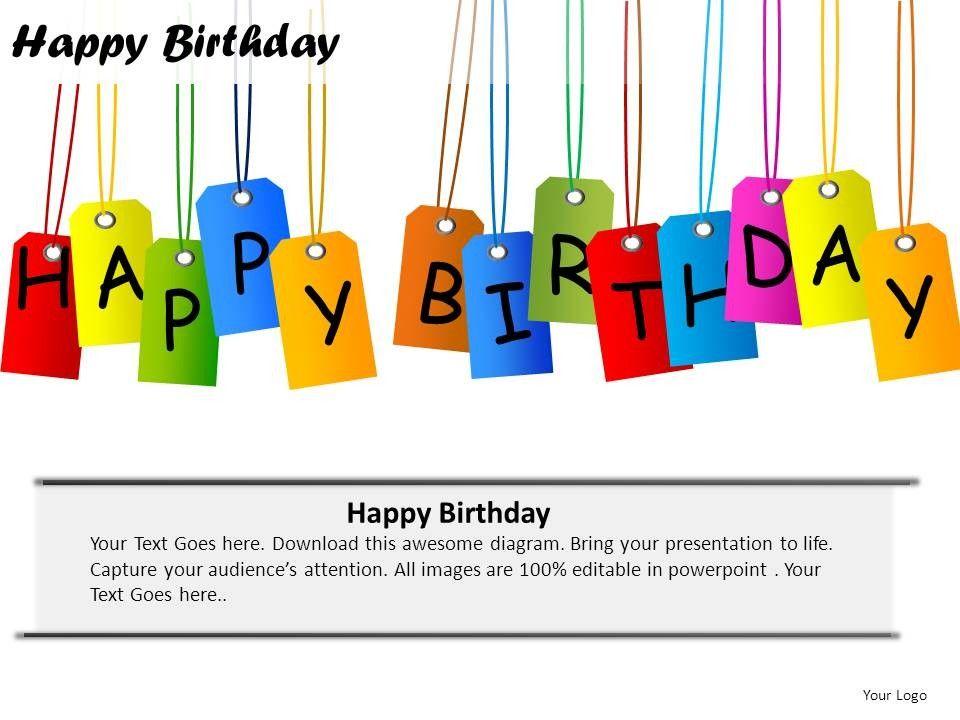 happy birthday wishes powerpoint presentation slides | ideas, Powerpoint templates