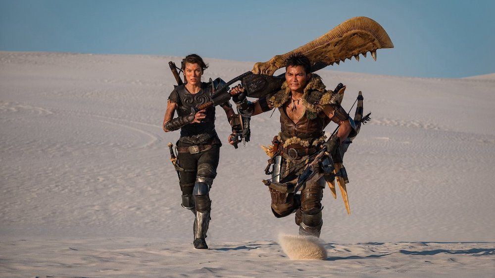 Monster Hunter Movie First Look Actually Has A Monster Hunter Rare Norm Monster Hunter Movie Monster Hunter Online Monster Hunter