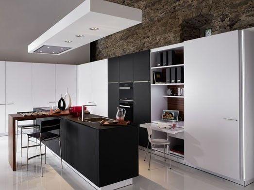 caisson suspendu hotte encastr e cuisine pinterest. Black Bedroom Furniture Sets. Home Design Ideas