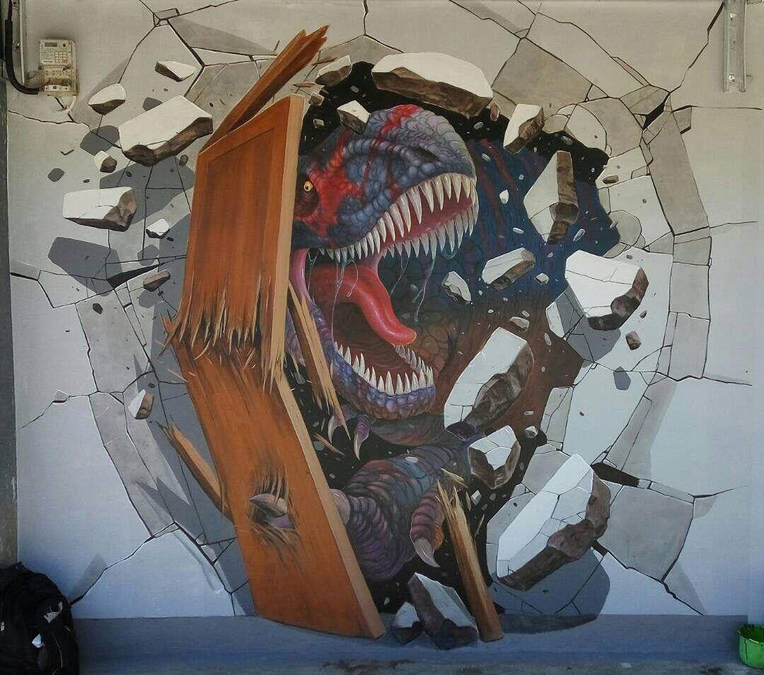3d Murals Art