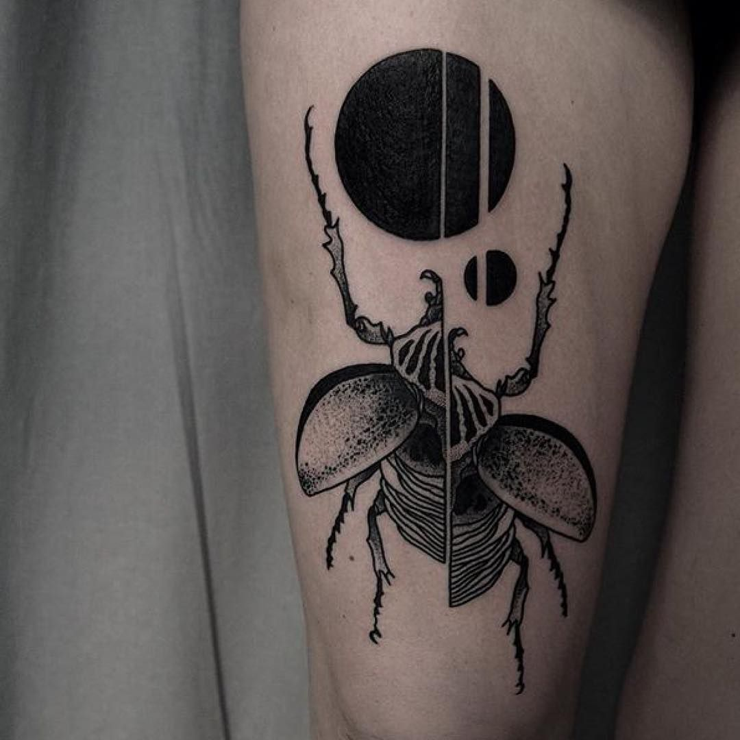 Tattoo by mjtattoos blackworkers tattoo bw blackwork