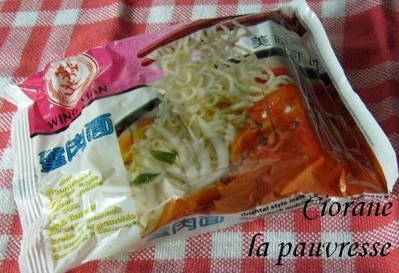Soupe chinoise sur le pouce