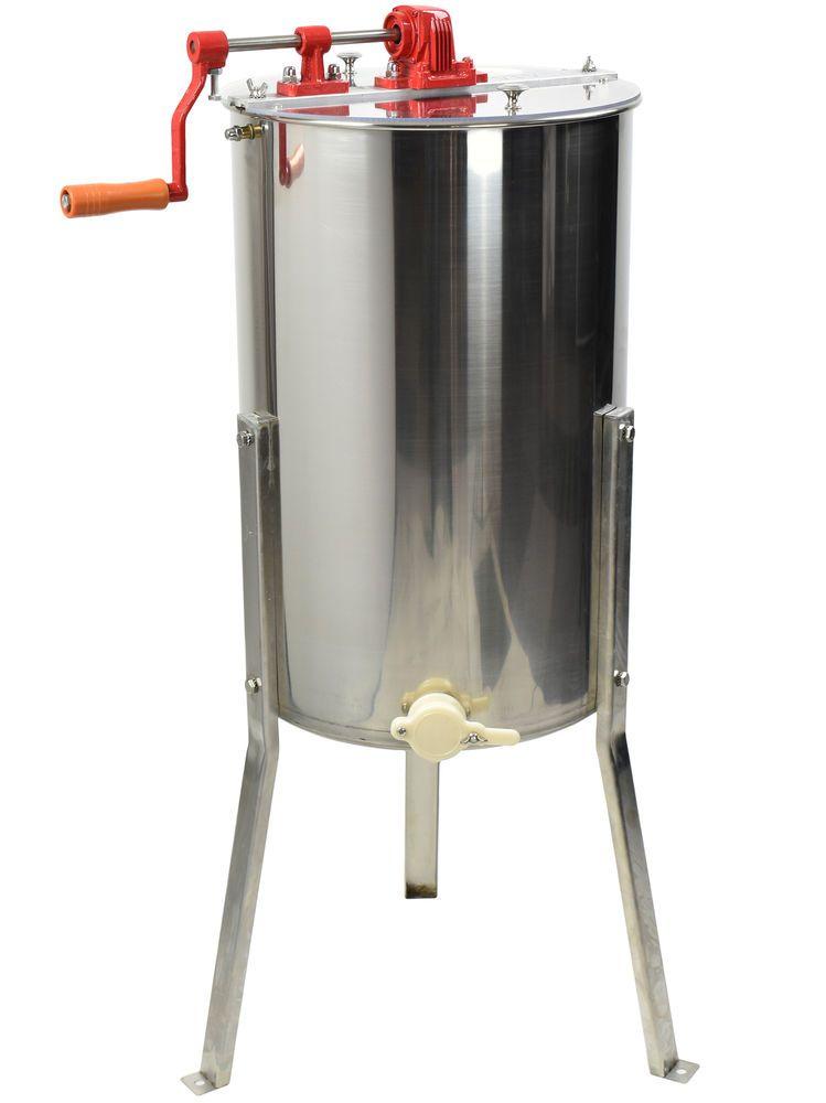 BEE-V002 VIVO Large Two 2 Frame Stainless Steel Honey Extractor