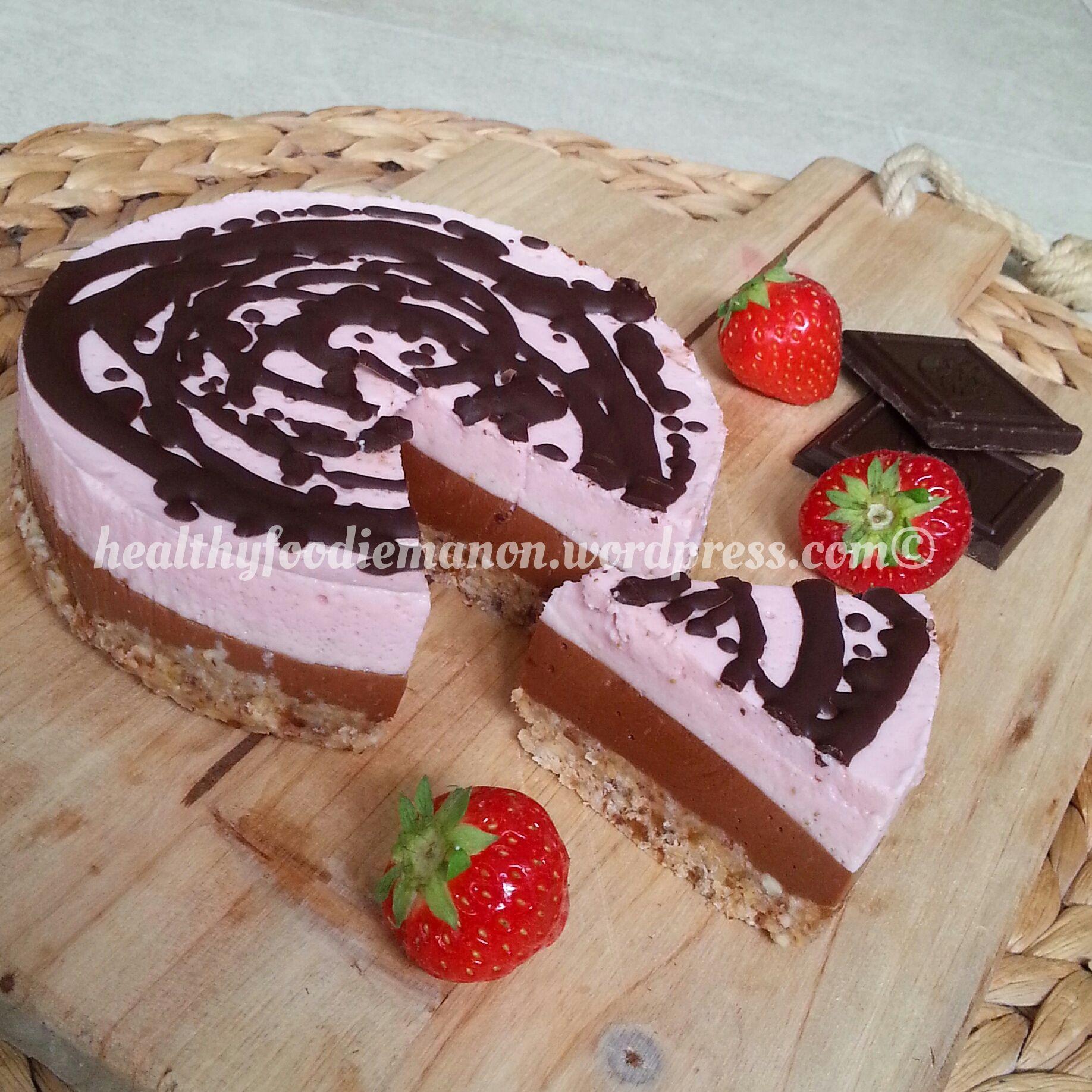 chocolade-aardbeikwarktaart2