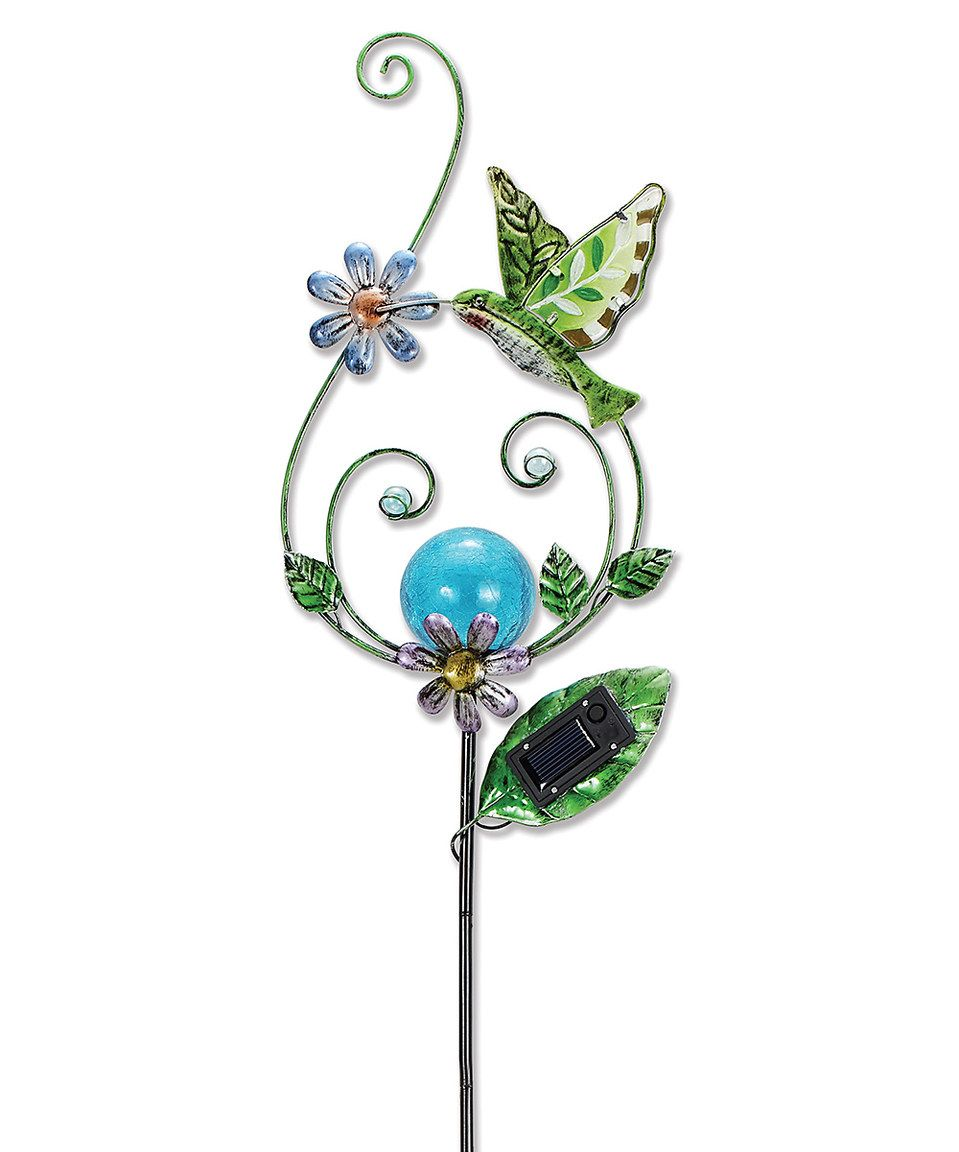Hummingbird Solar Garden Stake By Sunset Vista Design Co.