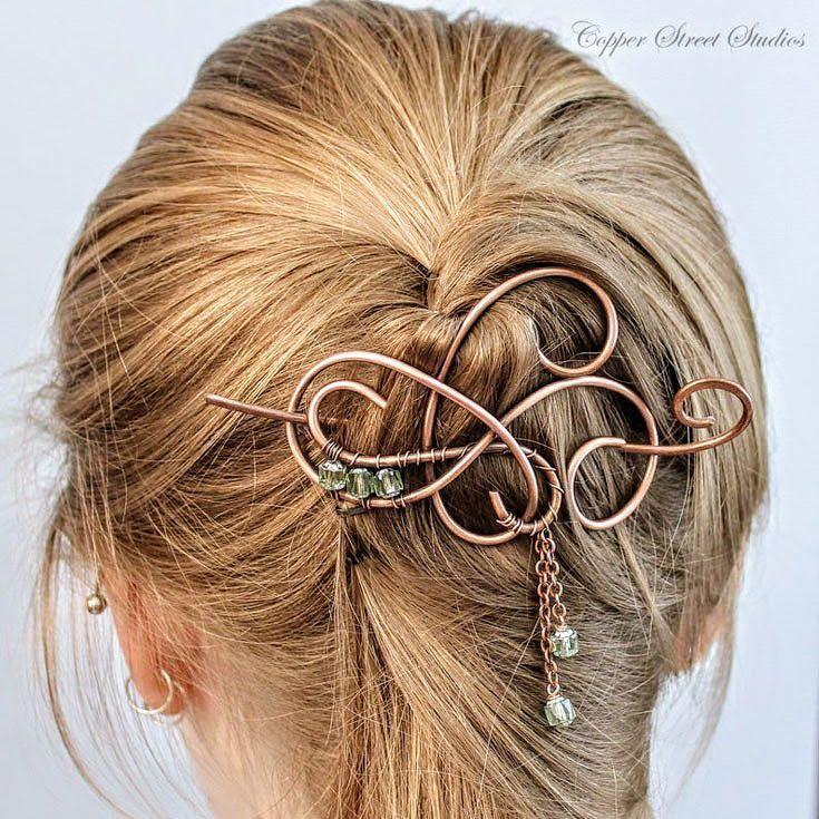 Copper Hair Jewelry