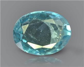 Cambodian blue zircon gemstones