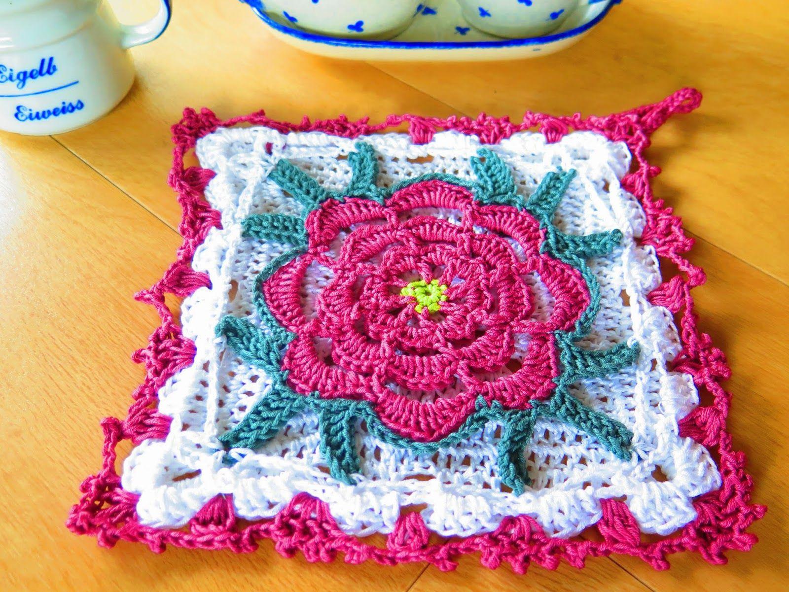 froilein lizzi h kelt vintage topflappen wie von oma grandmas vintage potholder crochet. Black Bedroom Furniture Sets. Home Design Ideas