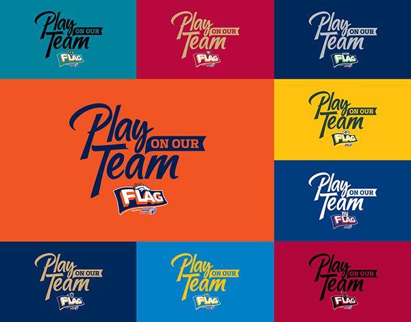 NFL Flag Football Campaign on Behance