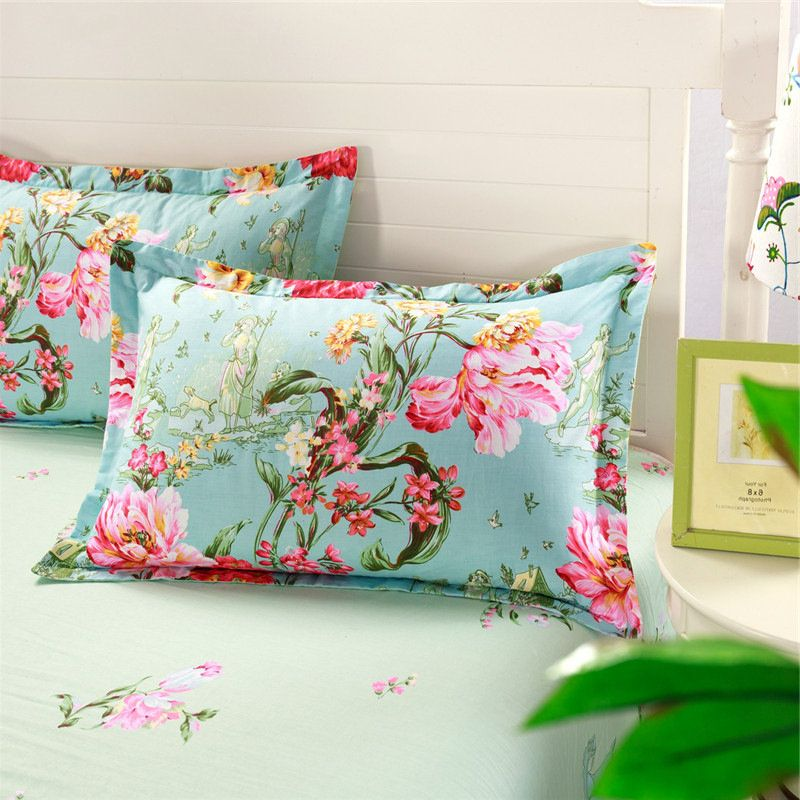 18.89x29.13\u0027\u0027 Cotton Multicolor Pillow Case Cover Simple Design Pillowcase Bedding Accessories