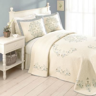 Addie Bedspread 100 Cotton Bedbathandbeyond Bedding