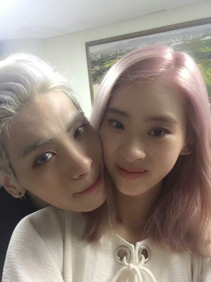 Hyoyeon is dating jay jonghyun kim