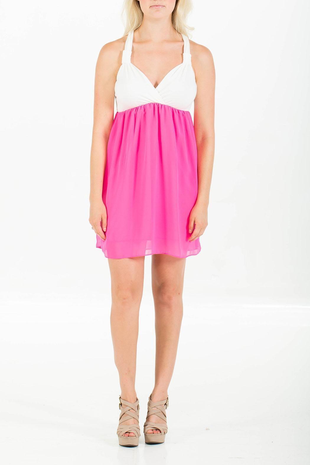 Nymphe Pink Sweetheart Dress