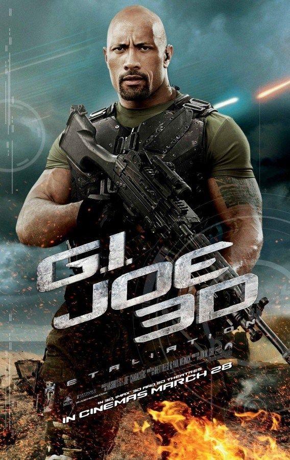 New International G I Joe Retaliation Character Posters