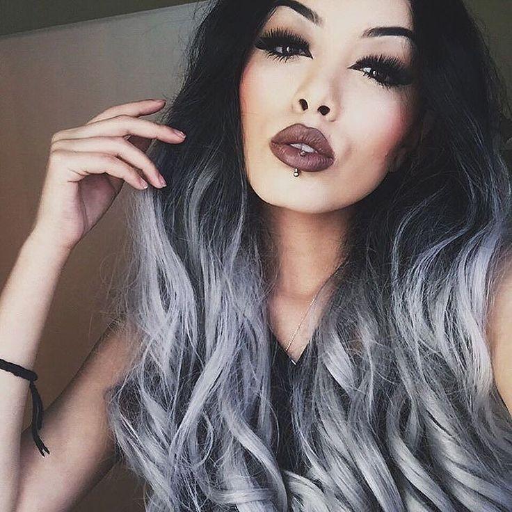 Hopeashampoo Tummat Hiukset