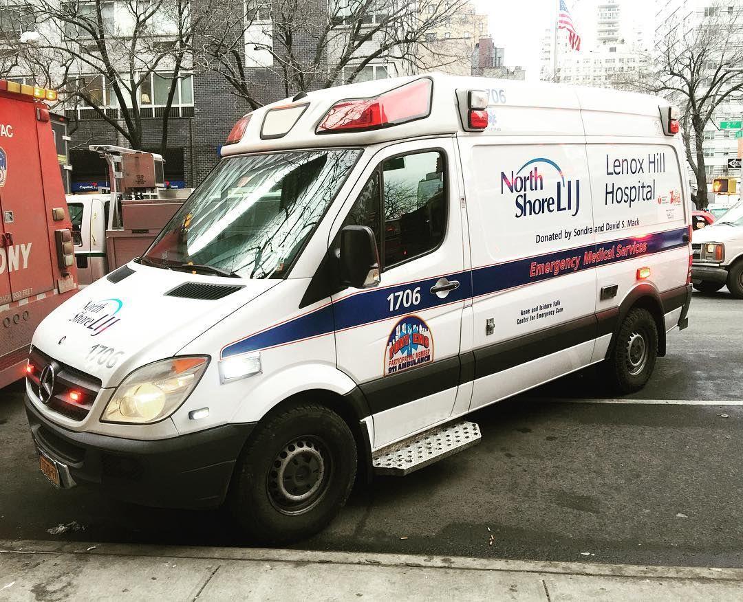 North Shore Lij Lenox Hill Hospital Ems Ambulance At A 2nd