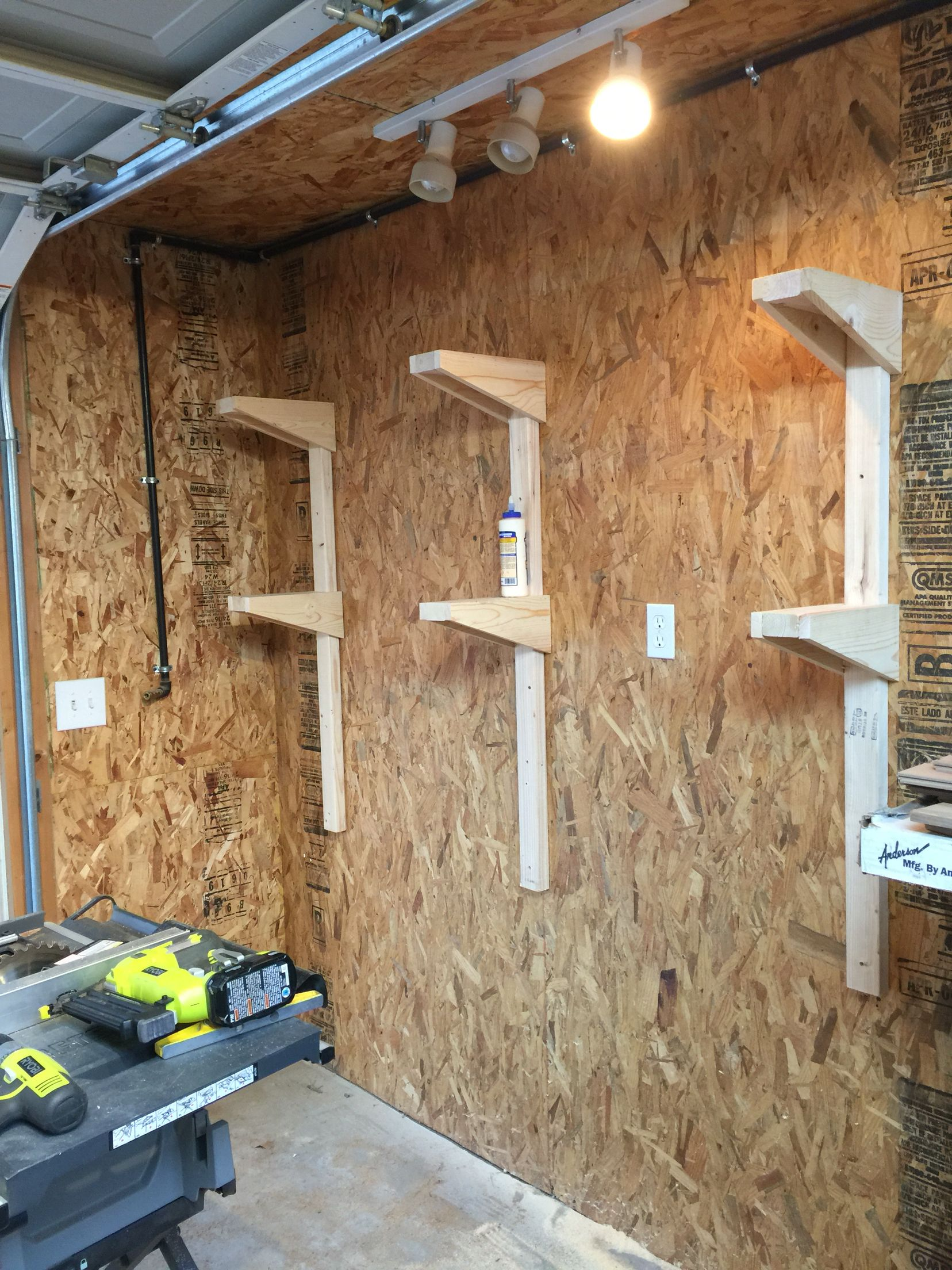 Wall Storage For Wood