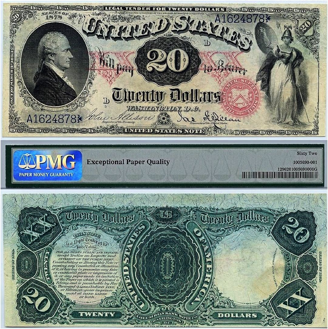 Washington D C 20 Dollars Note Money Notes Paper Currency Currency Design