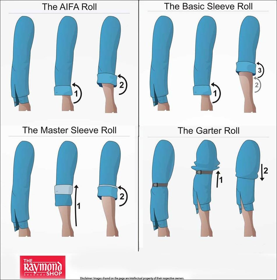 c634ac15a8e  Inspiration Here s a beautiful guide on how to roll your shirt sleeves and  look dashing ! Tell us in comment section which style would you don