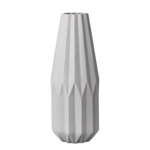 Bloomingville Ceramic Tall Grey Geometric Vase Bloomingville http - innovative oberflachengestaltung pixelahnliche elemente
