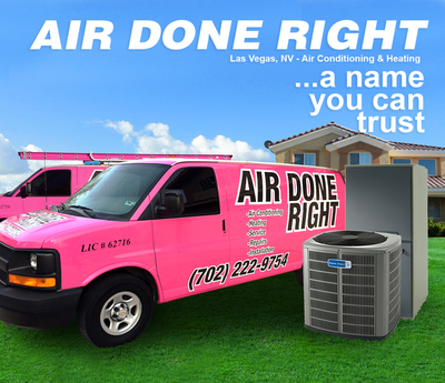 installation Air Done Right Inc. is a 24/7 full service